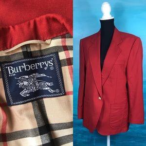Vintage Burberry oversized blazer with pockets